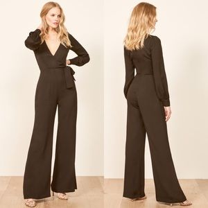 Reformation Molly Jumpsuit in Black Size 2